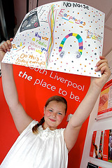 South Liverpool Homes Noise Action Week poster competition winner