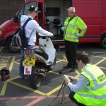 South Gloucester test motor cycles for noise