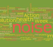 Noise Action Week Work Cloud